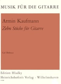 Zehn Stucke available at Guitar Notes.