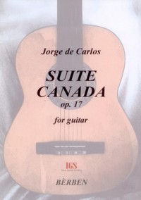 Suite Canada, op.17 available at Guitar Notes.
