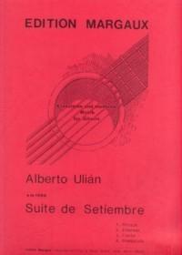 Suite de Setiembre available at Guitar Notes.
