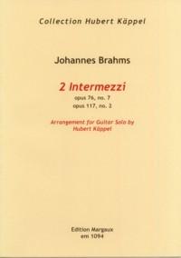 2 Intermezzi (Kappel) available at Guitar Notes.