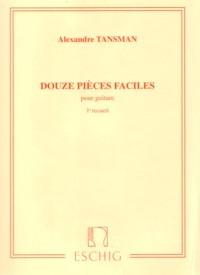 Douze Pieces Faciles, Vol.1 available at Guitar Notes.