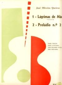 Lagrimas de Mae; Preludio no.2 available at Guitar Notes.