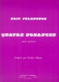 Quatre Sonances available at Guitar Notes.