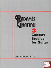 Three Concert Studies(Almeida) available at Guitar Notes.