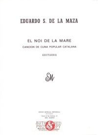 Canco del Lladre available at Guitar Notes.