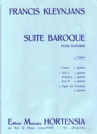 Suite Baroque, Vol.3 available at Guitar Notes.
