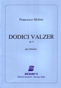 12 Valzer, op.9(Agostinelli/Rossini) available at Guitar Notes.