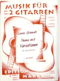 Thema mit Variationen available at Guitar Notes.