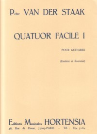 Quatour Facile I available at Guitar Notes.