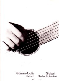 Six Preludes,op.46 available at Guitar Notes.