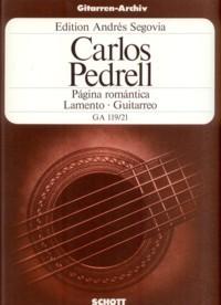 Pagina romantica-Lamento-Guitarreo available at Guitar Notes.