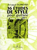 36 Etudes de Style: Vol.A available at Guitar Notes.