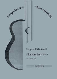 Flor de Sancayo available at Guitar Notes.