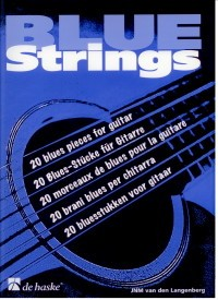 Blue Strings available at Guitar Notes.