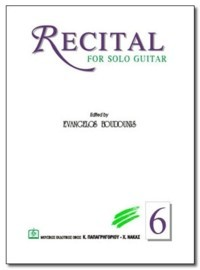 Recital no.6 available at Guitar Notes.