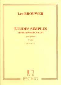 Etudes Simples, Vol.3 available at Guitar Notes.