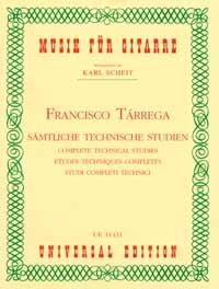 Complete Technical Studies(Scheit) available at Guitar Notes.