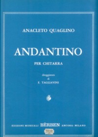Andantino(Tagliavini) available at Guitar Notes.