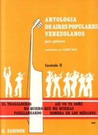 Antologia de Aires Populares Venezolanos 2 available at Guitar Notes.