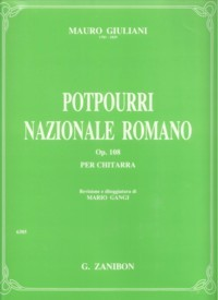 Potpourri nazionale romano, op.108(Gangi) available at Guitar Notes.