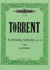 Fantasia Sonata no.4 available at Guitar Notes.