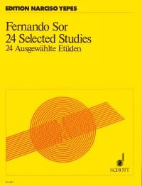 24 Selected Studies(Yepes) available at Guitar Notes.