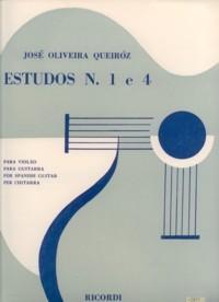 Estudos no.1 & 4 available at Guitar Notes.