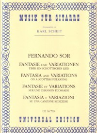 Fantasia and Variations, op.40(Scheit) available at Guitar Notes.