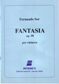 Fantasia, op.58(Agostinelli) available at Guitar Notes.