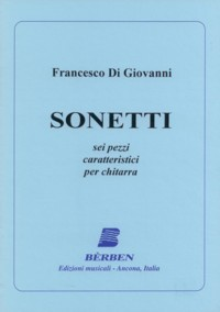 Sonetti, 6 pezzi caratteristici available at Guitar Notes.