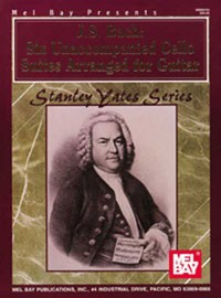 Six Cello Suites(Yates) available at Guitar Notes.