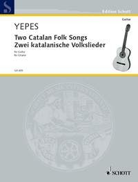 Two Catalan Folksongs (Yepes) available at Guitar Notes.