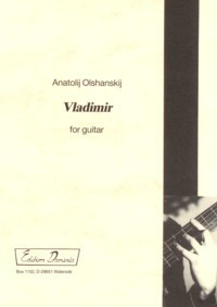 Vladimir available at Guitar Notes.