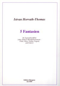 5 Fantasias available at Guitar Notes.