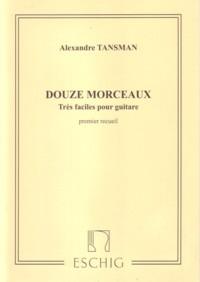 Douze Morceaux tres faciles, Vol.1 available at Guitar Notes.
