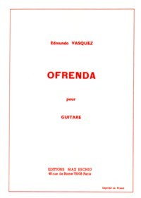Ofrenda available at Guitar Notes.