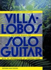 Collected Works for Solo Guitar available at Guitar Notes.