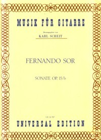 Sonata, op.15b(Scheit) available at Guitar Notes.