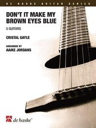 Don't It Make My Brown Eyes Blue [5Gtr] available at Guitar Notes.