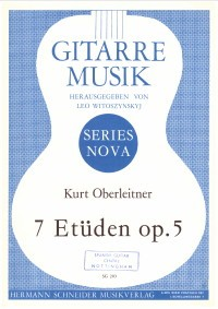 7 Etuden op.5 available at Guitar Notes.