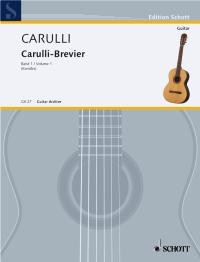 Carulli-Brevier: Selected Works, Vol.1 available at Guitar Notes.