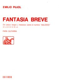 Fantasia Breve available at Guitar Notes.