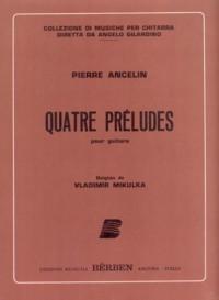 Quatre Preludes(Milkulka) available at Guitar Notes.