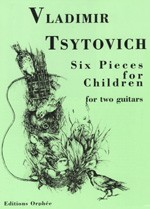 Six Pieces for Children available at Guitar Notes.