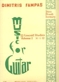 12 Concert Etudes available at Guitar Notes.