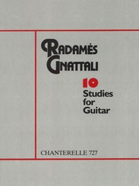 Ten Studies available at Guitar Notes.