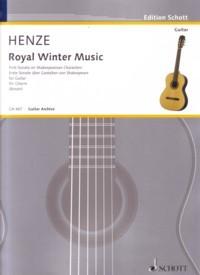 Royal Winter Music, Sonata no.1 available at Guitar Notes.