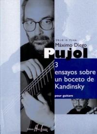 3 ensayos sobre un boceto de Kandinsky available at Guitar Notes.