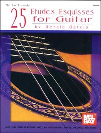25 Etudes Esquisses available at Guitar Notes.