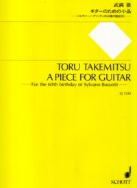 A Piece for Guitar available at Guitar Notes.